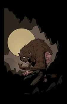 BA - werewolf transformation