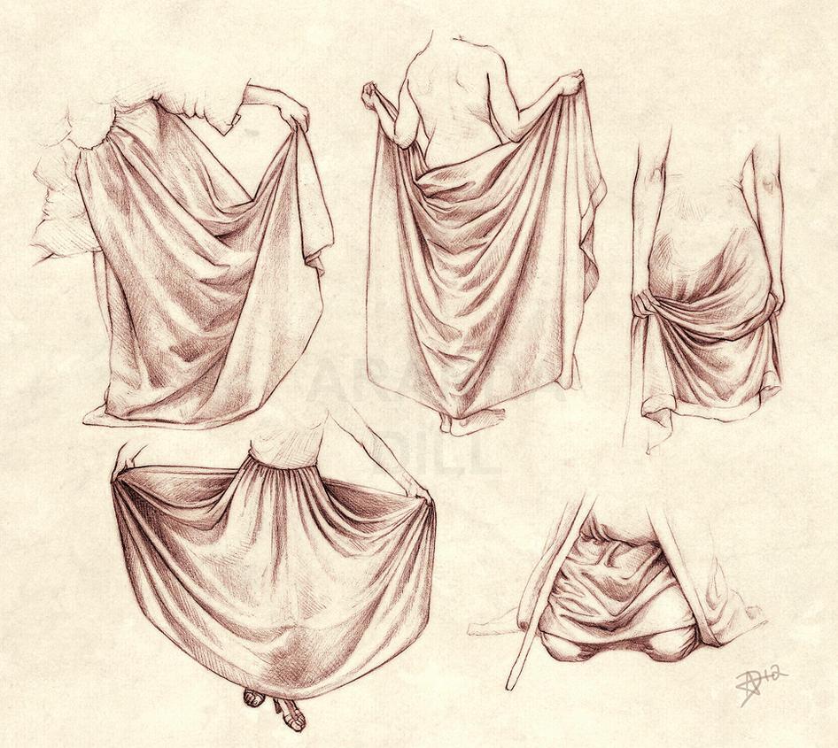 Draping Folds by ArandaDill