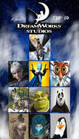 Top 10 Favorite DreamWorks Male Characters
