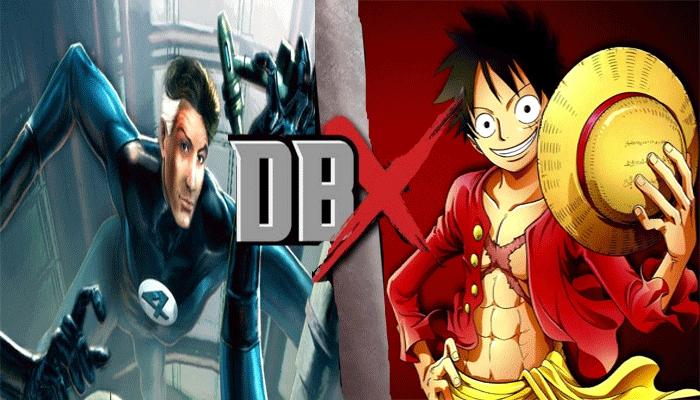 Dbx Mr Fantastic Vs Monkey D Luffy By Jackskellington416