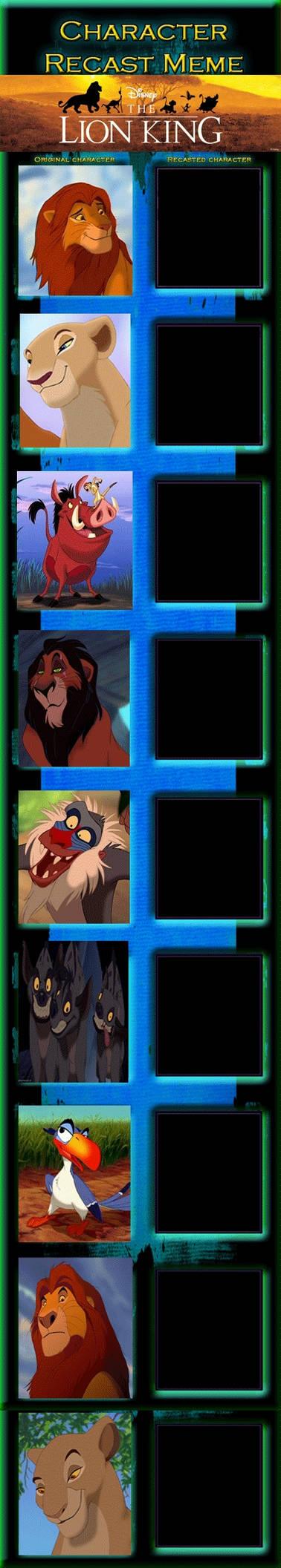 The Lion King Recast Meme