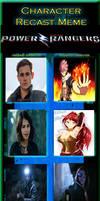 Power Rangers Recast