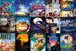 Top 10 Animated Movies of the 1990's Meme