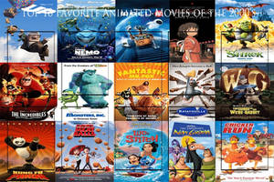 Top 10 Animated Movies of the 2000's Meme by JackSkellington416