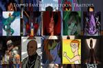 My Top 10 Favorite Cartoon Traitors