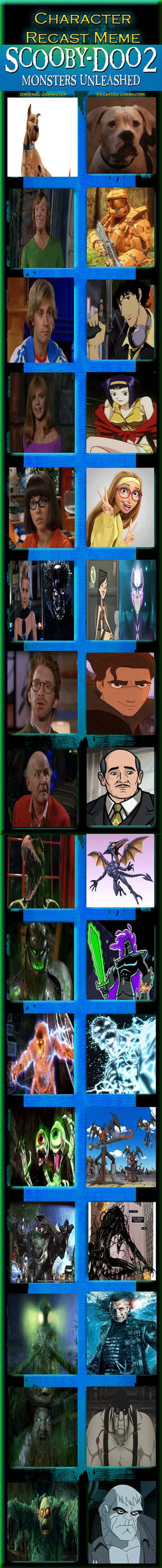 Scooby Doo 2 Monsters Unleashed Recast By Jackskellington416 On Deviantart