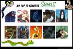 My Top 10 Favorite Snakes