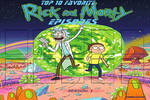 Top 10 Favorite Rick and Morty Episodes Meme