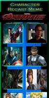 Avengers Age of Ultron Recast