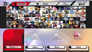 My Super Smash Bros. Roster by JackSkellington416
