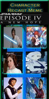 Star Wars Episode IV: A New Hope Recast