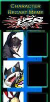 Persona 5 Scramble: Phantom Strikers Recast Meme by JackSkellington416