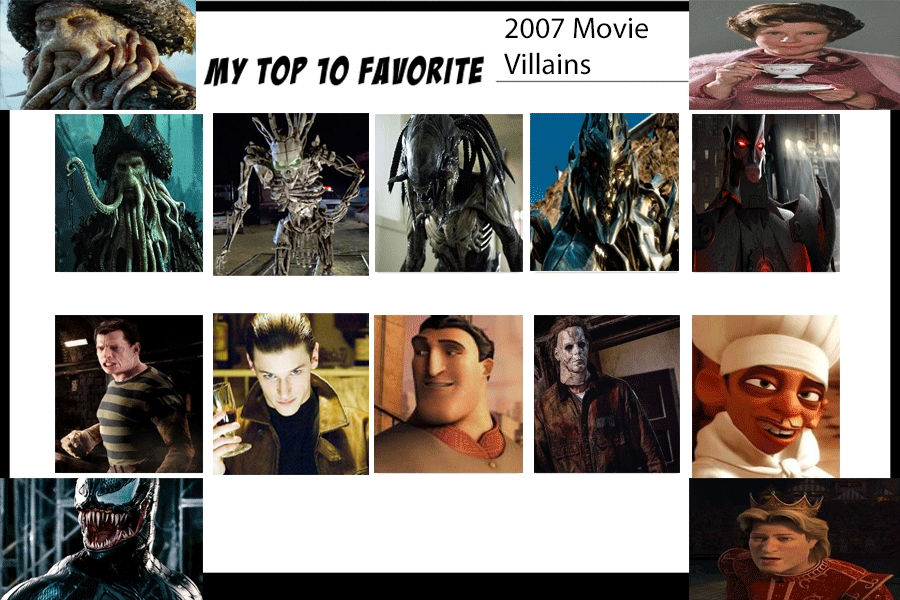 My Top 10 Favorite 2007 Movie Villains By Jackskellington416 On
