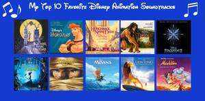 My Top 10 Favorite Disney Animation Soundtracks