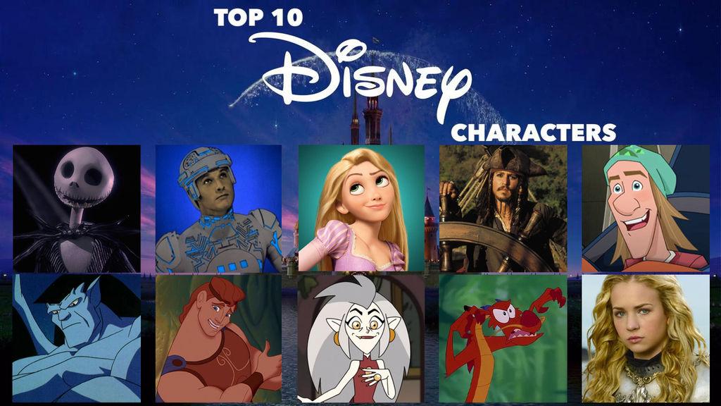 My Top 10 Favorite Disney Characters