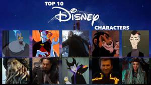My Top 10 Favorite Disney Villains