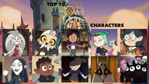 My Top 10 Favorite The Owl House Characters