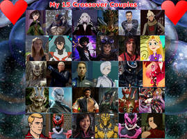 My Top 15 Power Rangers Crossover Couples