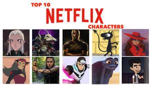 My Top 10 Favorite Netflix Characters