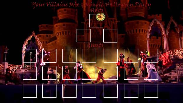 Villains Mix and Mingle Halloween Party Meme