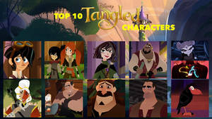 My Top 10 Favorite Tangled the Series Characters