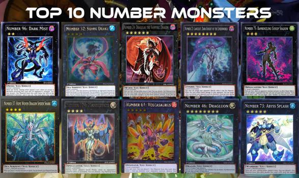 My Top 10 Favorite Number Monsters