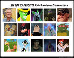 My Top 13 Favorite Rob Paulsen Characters