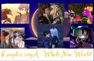 6 Couples Sing A Whole New World