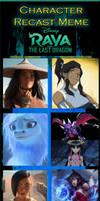 Raya and the Last Dragon Recast (2)