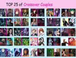 My Top 25 Favorite Crossover Couples (4)