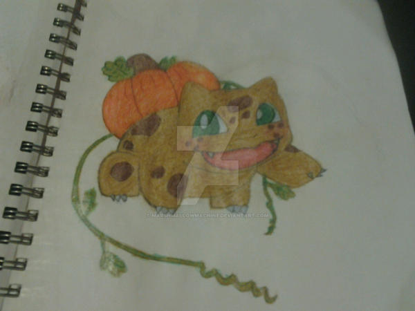 Drawtober: Samhain The Kabochasaur by MarshMallowMachine