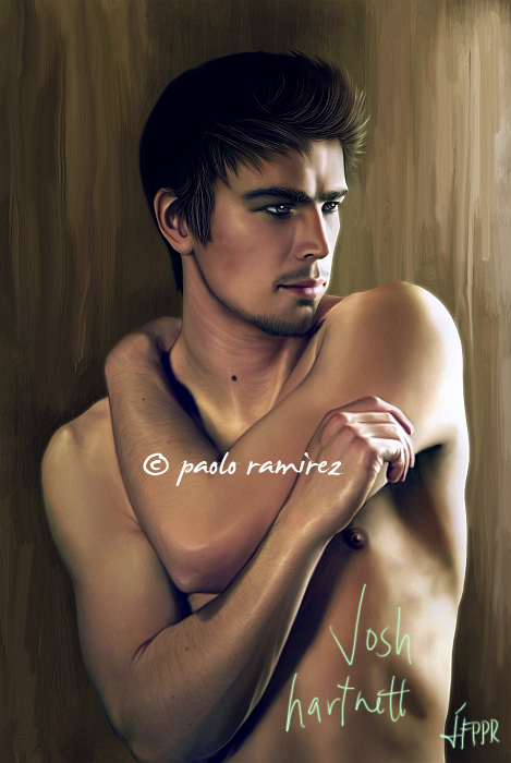 Commission: Josh Hartnett by pbozproduction