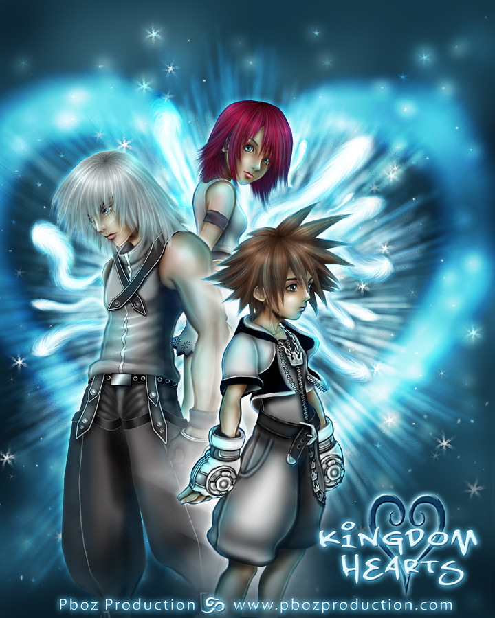 KINGDOM HEARTS by ~pbozproduction