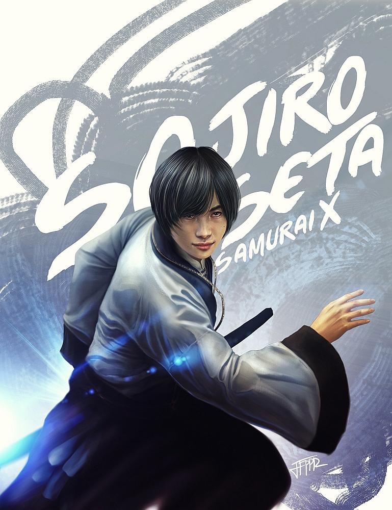 Sojiro Seta - Rurouni Kenshin by pbozproduction