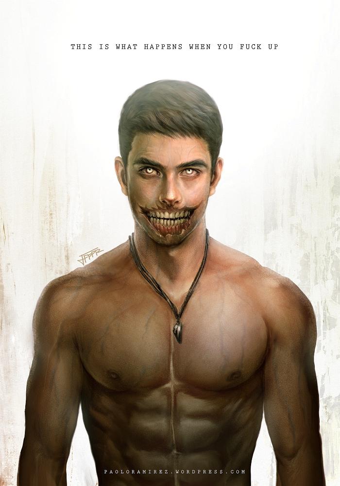 Zombie Gabriel Colt by pbozproduction