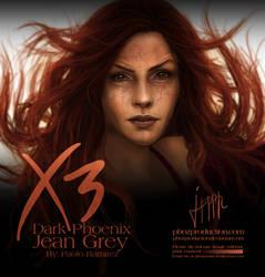 Jean Grey: Dark Phoenix by pbozproduction