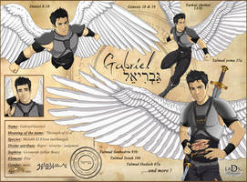 Curriculum Vitae Archangel Gabriel by lady7archangels