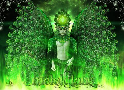 MELEK TAUS Yezidi peacock angel