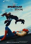 Spider Man + Venom Movie Poster by OfAmazingSpidey