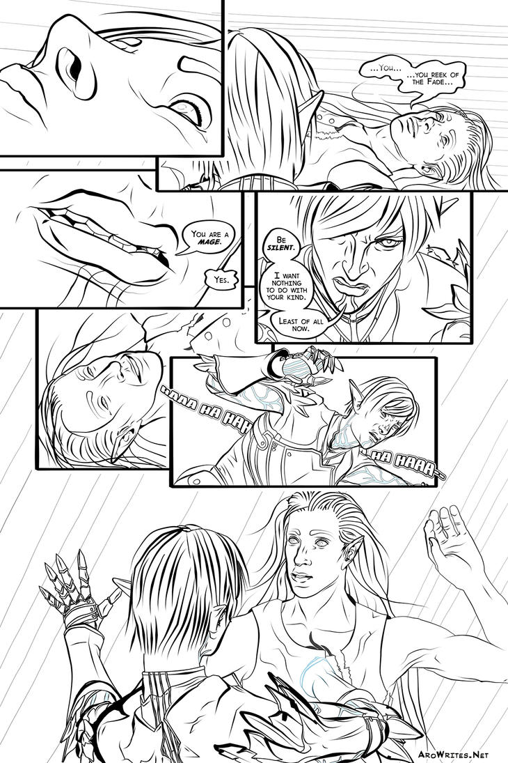 Black Black Heart - page 2 by Aroihkin