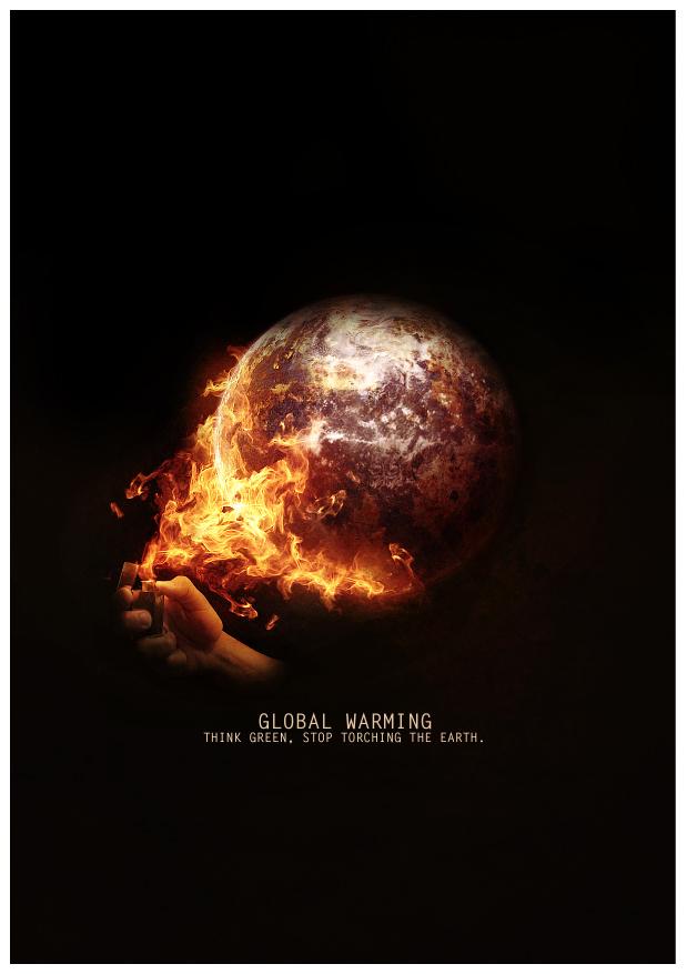 Poster Design: Global Warming.