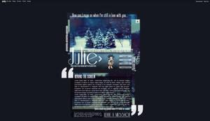 Julie's profile.