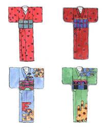 Kimono sets by punkflock