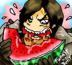 Trevor's watermelon