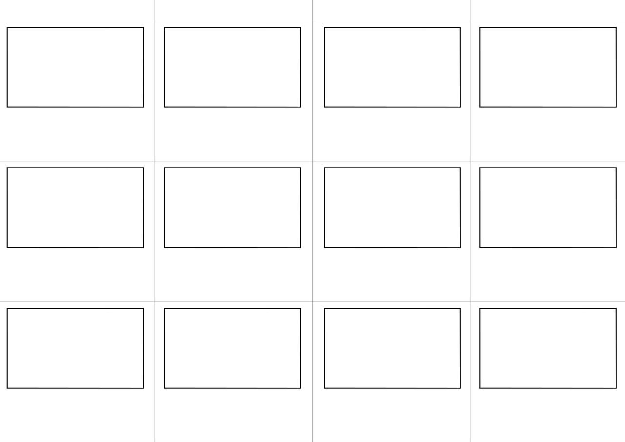 Story board template by spenelo on deviantart for Story layout