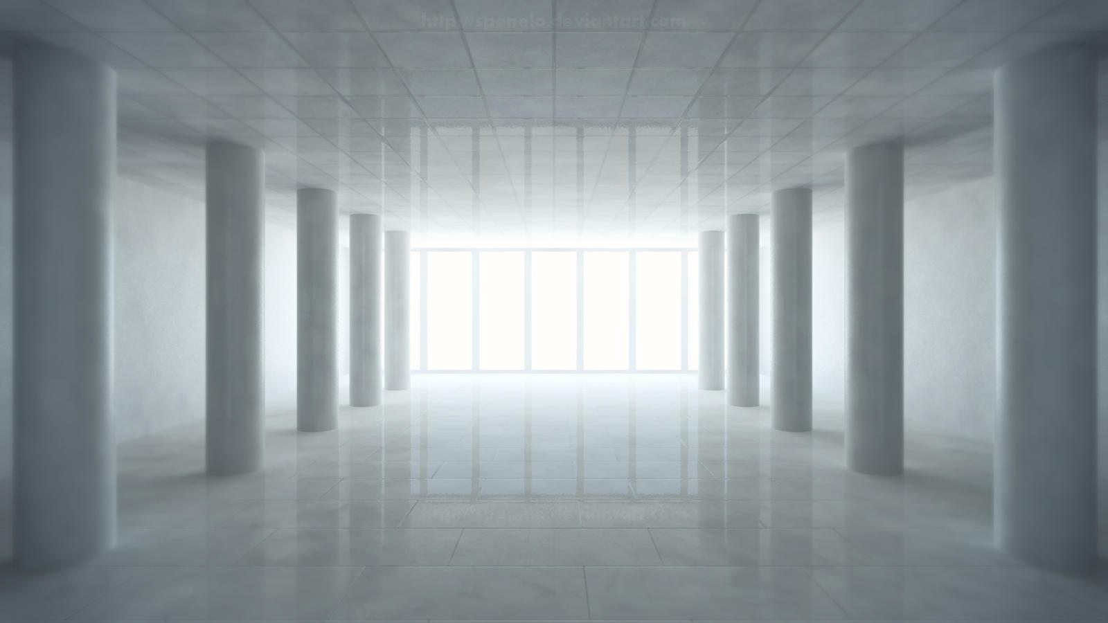 Heavenly corridor by spenelo on deviantart - Wallpaper corridor ...