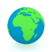 Green n Blue Earth