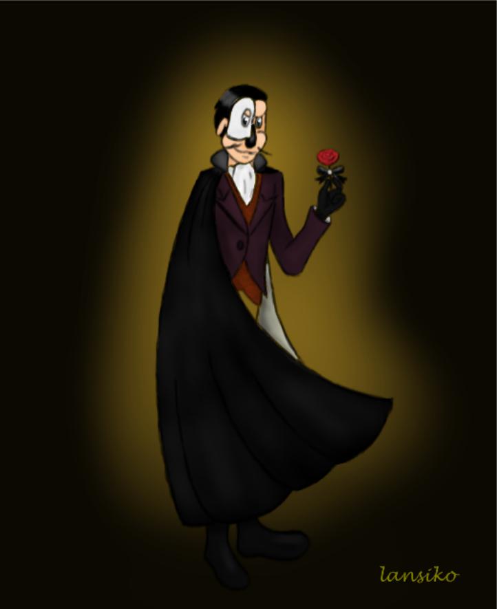 Phantom Blot of the Opera