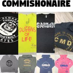 COMMISHONAIRE'S Freelance Camden NJ designs