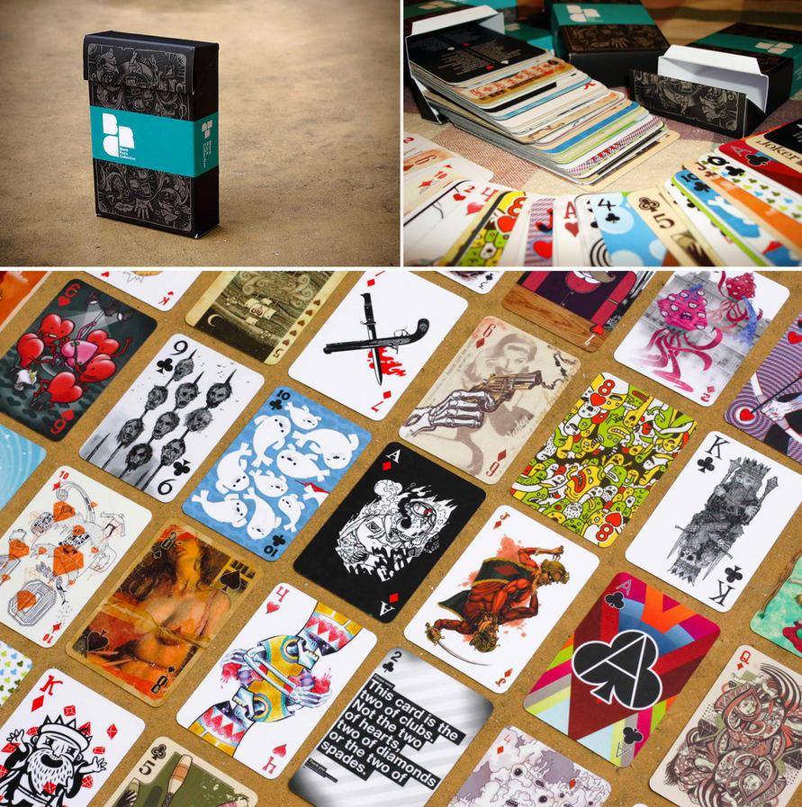 Blackrock Card Deck by pete-aeiko
